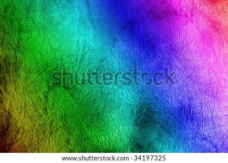 Grunge rainbow background - stock photo