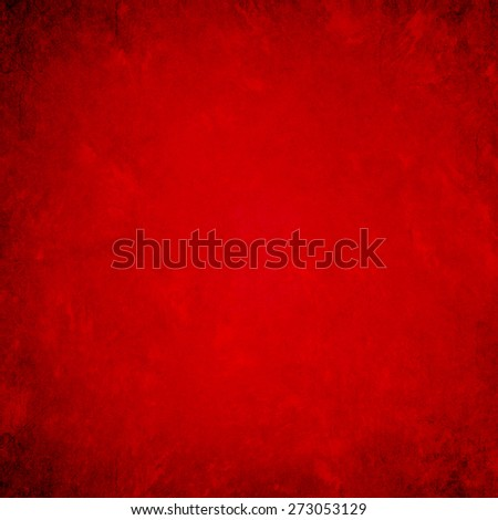 Grunge red background texture - stock photo