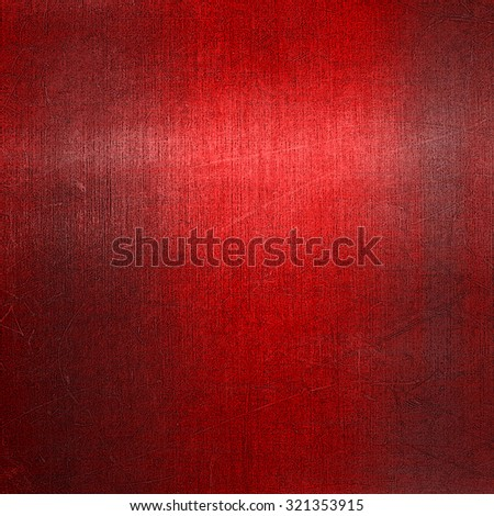 grunge red metal background - stock photo