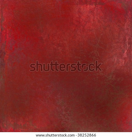 grunge red painted cracked textured background