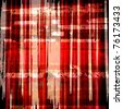 grunge red plaid graphic background design - stock photo