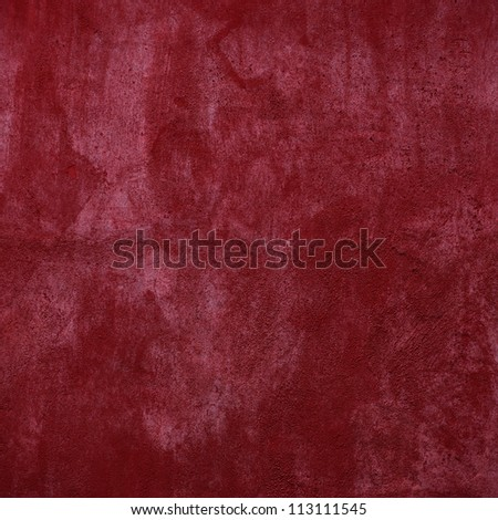grunge red texture - concrete background. - stock photo