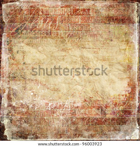 Grunge Religious Background with place for your text or image - stock photo