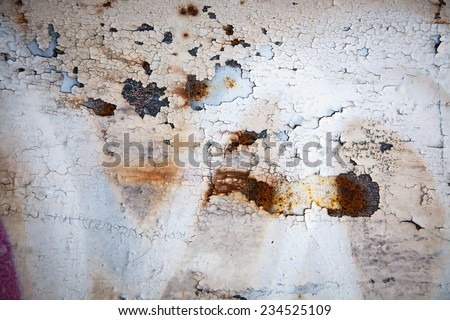 Grunge retro rusty metal close up photo , great texture,background or design element  for your projects - stock photo