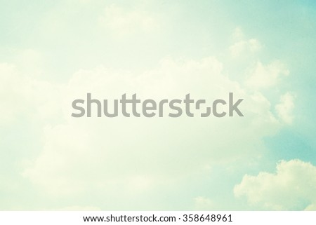 grunge retro sky background - stock photo