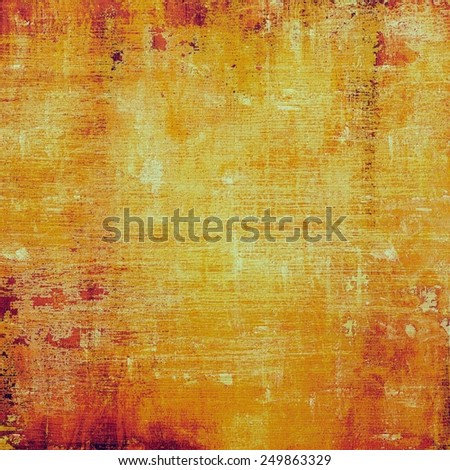Grunge retro texture, elegant old-style background. With different color patterns: yellow (beige); brown; red (orange) - stock photo