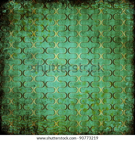 grunge retro vintage pattern - stock photo