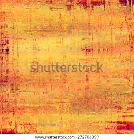 Grunge retro vintage texture, old background. With different color patterns: yellow (beige); brown; red (orange); pink - stock photo