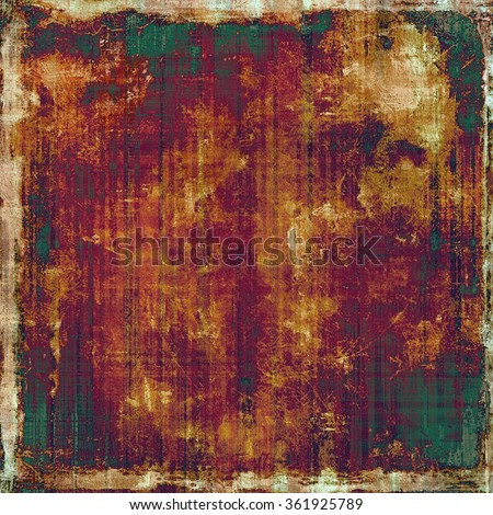 Grunge retro vintage texture, old background. With different color patterns: yellow (beige); brown; purple (violet); green; red (orange) - stock photo