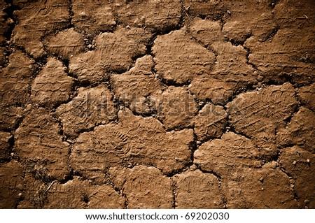Grunge Road Background - stock photo