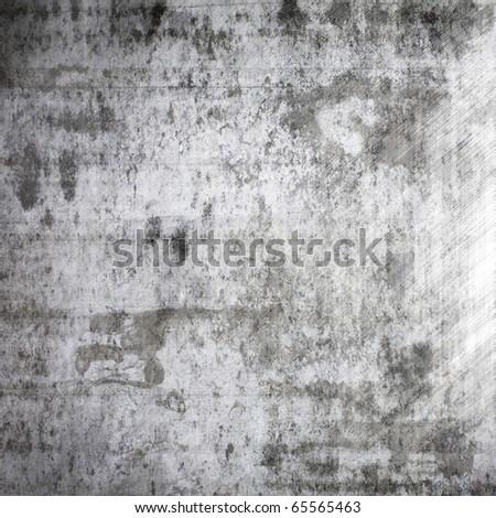 Grunge rough metal - stock photo