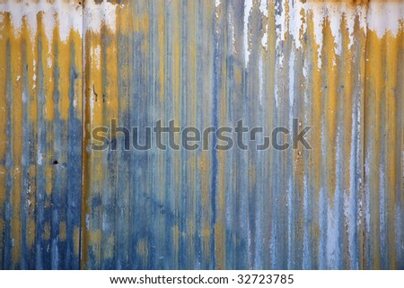 Grunge rusty metal background. - stock photo