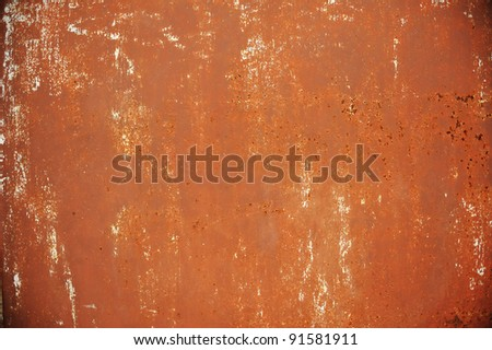 Grunge rusty metal texture - stock photo
