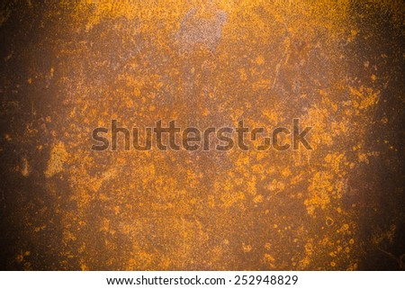 grunge rusty metal wall background