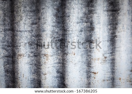 grunge rusty zinc background
