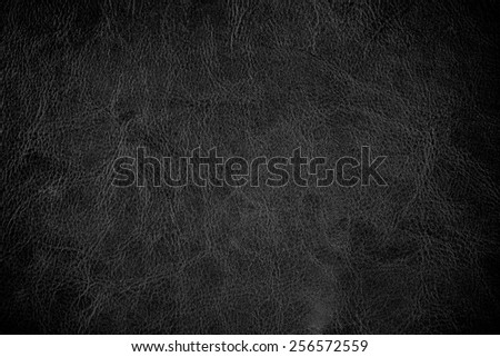 grunge scratched leather to use as background - stock photo