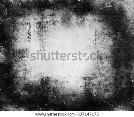Grunge Scratched Texture Background - stock photo