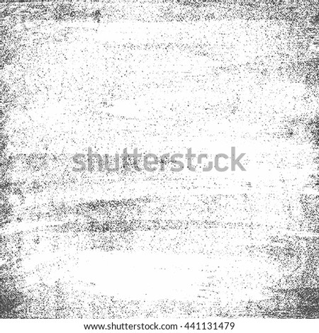 grunge sketch effect texture, scratched plate distressed textured and background, illustration design element - stock photo