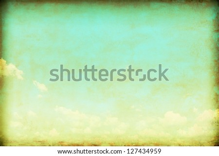 Grunge sky background. - stock photo