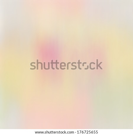 Grunge stained hazy abstract background in pastel colors - stock photo