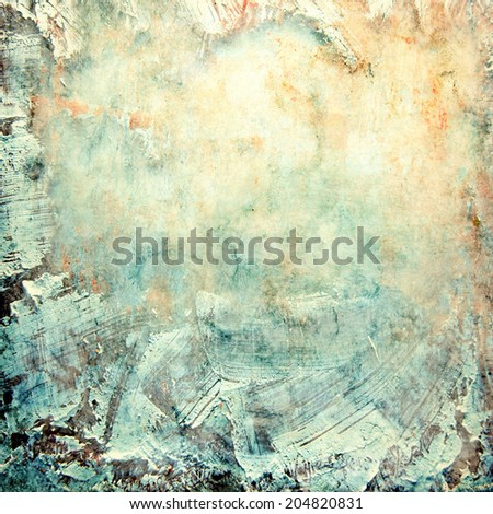 grunge stained paper texture design; abstract background - stock photo