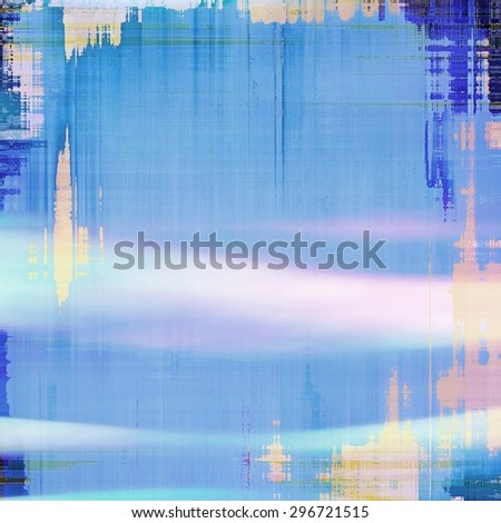 Grunge stained texture, distressed background with space for text or image. With different color patterns: gray; blue; cyan; pink - stock photo