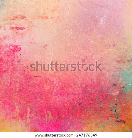 Grunge style abstract romantic background with distressed vintage concept design. - stock photo