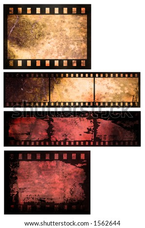 Grunge style film abstract - stock photo