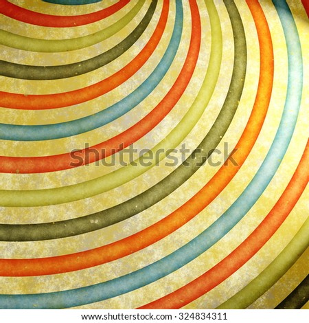 grunge sunburst background - stock photo