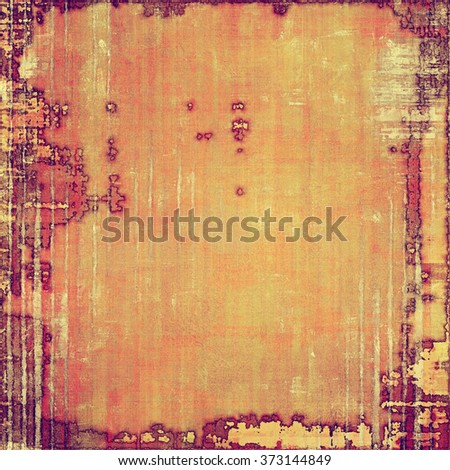 Grunge texture, distressed background. With different color patterns: yellow (beige); brown; red (orange); pink; purple (violet) - stock photo