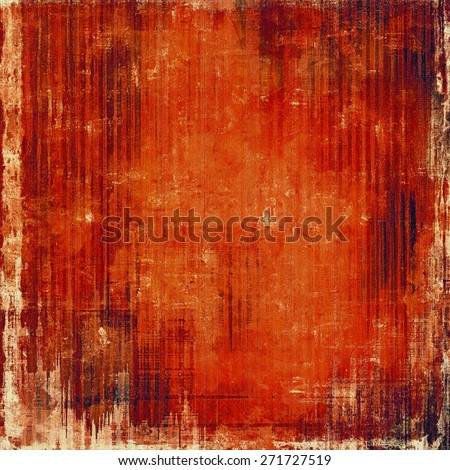 Grunge texture, may be used as background. With different color patterns: brown; red (orange) - stock photo