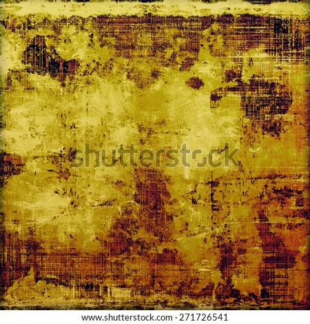 Grunge texture, may be used as background. With different color patterns: yellow (beige); brown; purple (violet) - stock photo