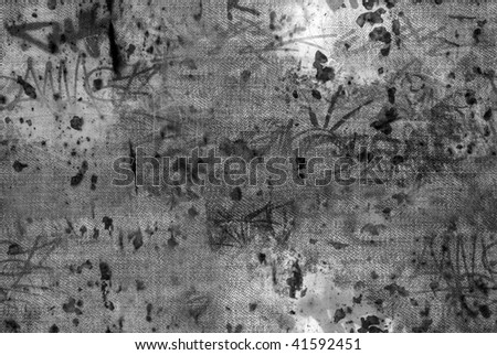 Grunge texture of jeans. Element of design. - stock photo