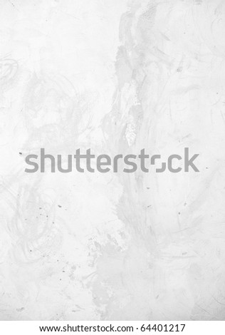 Grunge texture of old light cement wall - stock photo