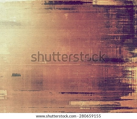 Grunge texture, Vintage background. With different color patterns: yellow (beige); brown; gray; purple (violet) - stock photo