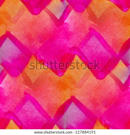 grunge texture, watercolor seamless background, orange pink vintage hand drawn background, business background, abstract background, retro background - stock photo