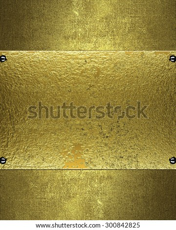 Grunge texture with antique sign for text. Element for design. Template for design. - stock photo