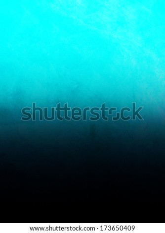Grunge texture with blue/aqua/black color and light source.