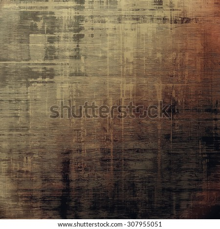 Grunge texture. With different color patterns: yellow (beige); brown; gray; black - stock photo