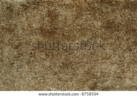Grunge texture with rust - stock photo