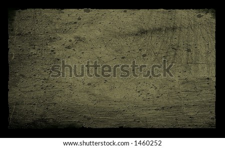 Grunge Textured background on black - stock photo