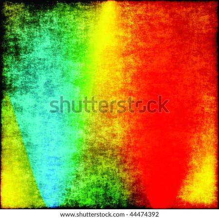 Grunge Tie Dye - stock photo