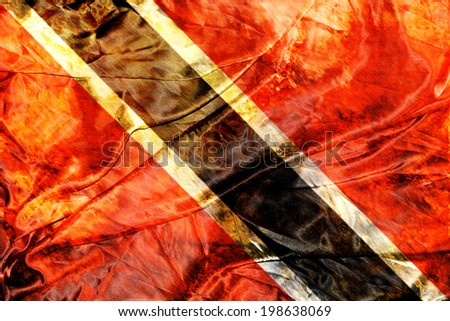 Grunge Trinidad and Tobago - stock photo