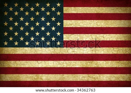 grunge United States of America Flag