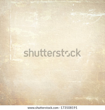 grunge urban background beige wall texture - stock photo