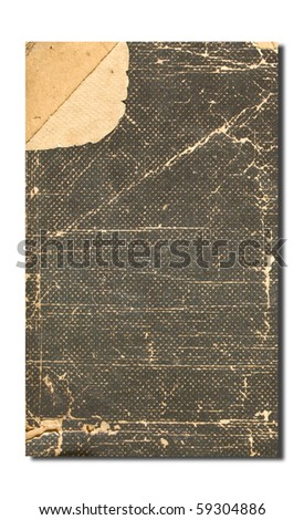 Grunge vintage old paper background - stock photo