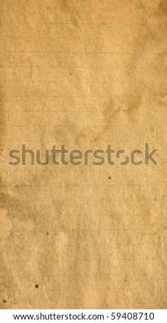 Grunge vintage old paper background - stock photo