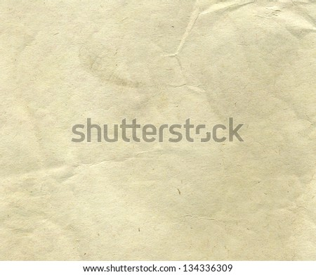 Grunge vintage old paper background. paper texture - stock photo