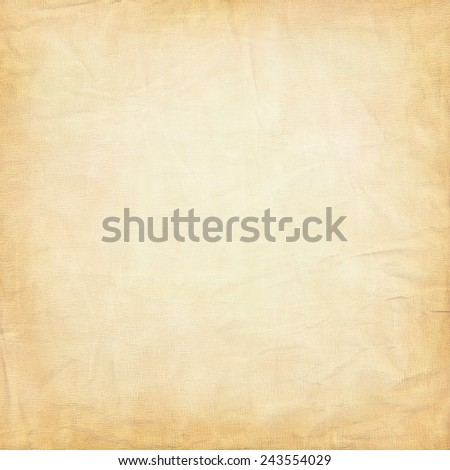 Grunge vintage old paper background square format - stock photo