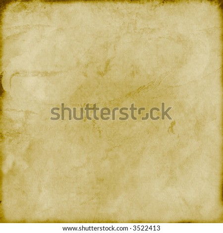 grunge vintage paper/parchment - stock photo
